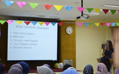 HELICOPTER : Health Issues, Language Course and Traditional Game with Incomers by CIMSA UNAND