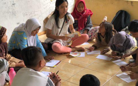 Improving Children's English Ability Through L.O.V.E by CIMSA UI