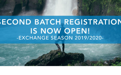 SECOND BATCH EXCHANGE REGISTRATION IS NOW OPEN!