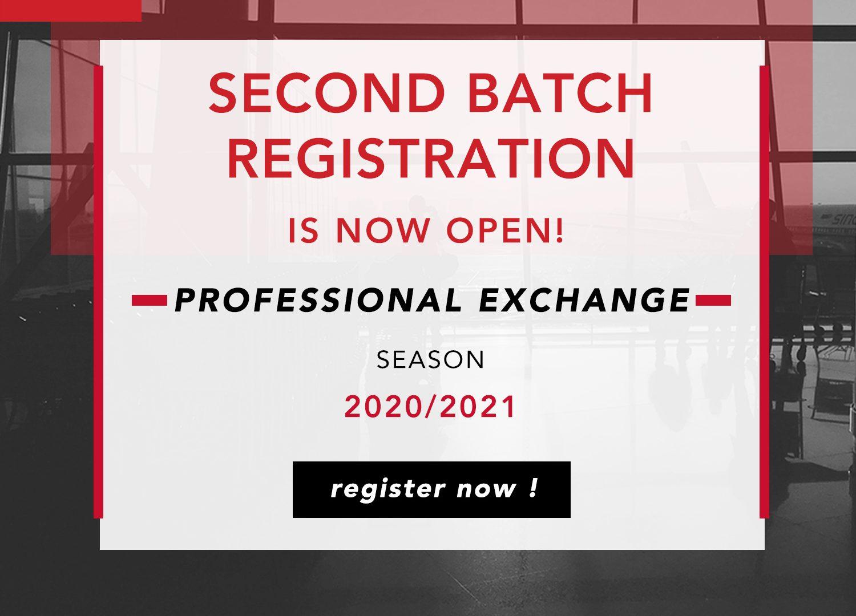 SCOPE CIMSA EXCHANGE OPPORTUNITIES : 2ND BATCH REGISTRATION