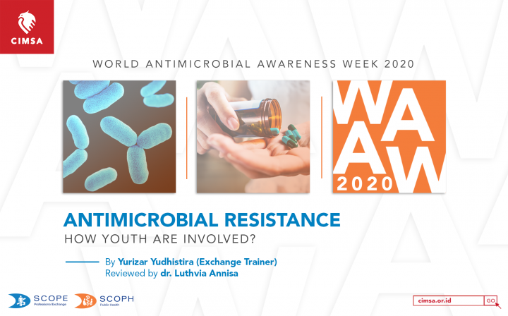WORLD ANTIMICROBIAL AWARENESS WEEK 2020   ANTIMICROBIAL RESISTANCE: HOW YOUTH ARE INVOLVED?