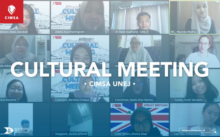 CULTURAL MEETING | CIMSA UNEJ