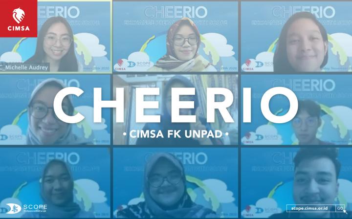 CHEERIO | CIMSA FK UNPAD