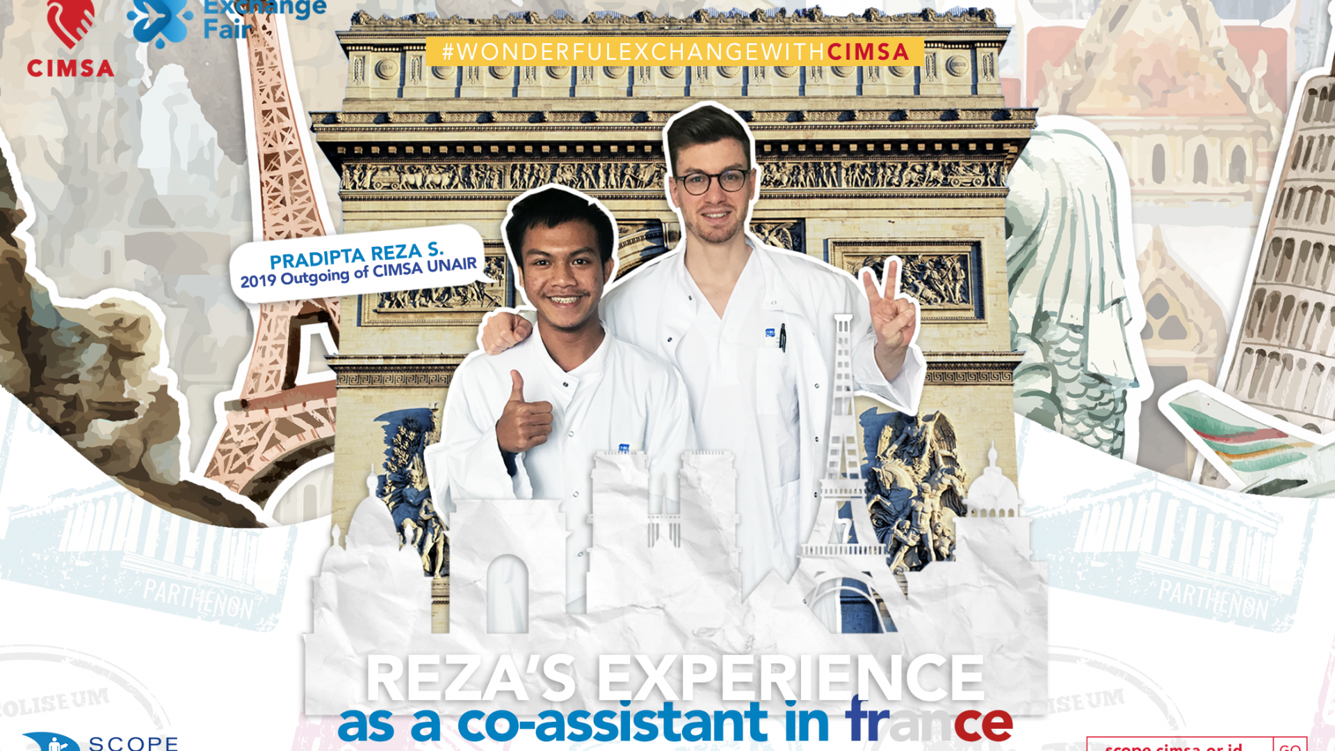 REZA'S EXPERIENCE AS A CO-ASSISTANT IN FRANCE